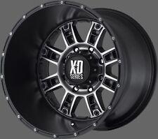 "XD Riot Black 18"" Wheels W/ 33x12.50x18 TOYO Tires"