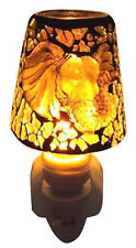 Elephant Head Handmade Art Glass Night Light