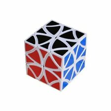 Lanlan 12 Axis Flower Curvy Copter Magic Cube Smooth Puzzle Twist Game Toy White
