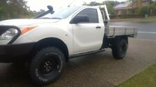Dominator 4x4 Rock Sliders BT50 / PX Ford Ranger Single Cab RAW