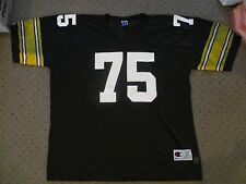VINTAGE JOE GREENE CHAMPION AUTHENTIC NFL PITTSBURGH STEELERS MENS JERSEY XXL 52