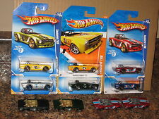 "Hot Wheels Lot of 10 1969 Triumph TR6 Faster Than Ever Mystery Black ""69 British"