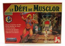 1985 Jeux Nathan MASTERS OF THE UNIVERSE HE-MAN'S RECALL FRENCH BOARD GAME VHTF