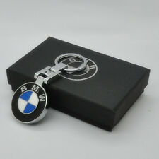 Pendant Keychain Key Chain Ring Chrome For BMW X5 X3 X6 M Series E90 E92 E93 E60