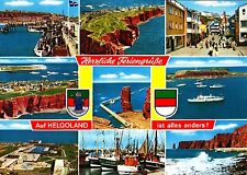Helgoland , Ansichtskarte ; 1992 gelaufen