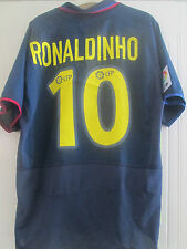 Barcelona 2002-2004 Away Ronaldinho Football Shirt Adult Size Large L /40611