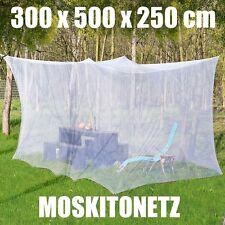 Moskitonetz, 300 x 500 x 250 cm, Camping, Insektenschutz, Outdoor, Fliegengitter