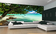 The Seychelles Beach Wall Mural Photo Wallpaper GIANT DECOR Paper Poster