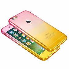 Para Nuevo iPhone 7 Estuche Transparente Cristal Transparente Funda Cubierta de piel suave Gel TPU