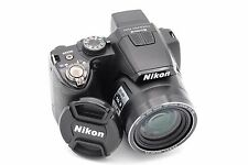 Nikon Coolpix P100 10MP 26.1x DIGITAL CAMERA BLACK WITH BATTERY AND CHARGER