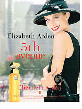 PUBLICITE ADVERTISING 024   1998   ELISABETH ARDEN  parfum 5th AVENUE