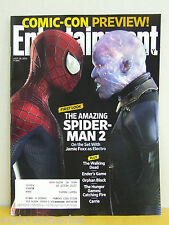 JULY FIRST LOOK Amazing Spider Man 2 ELECTRO 2013 COMIC CON PREVIEW Ender's