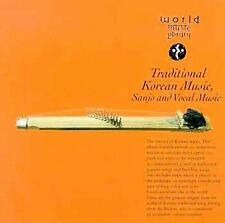 Traditional Korean Music, Sanjo and Vocal Music CD World Music Library