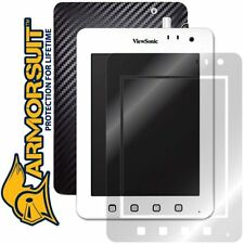 ArmorSuit MilitaryShield ViewSonic ViewPad 7e Screen Protector + Black Carbon