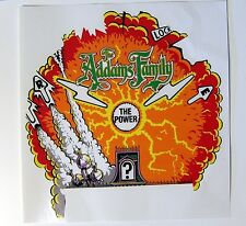 Addams Family Pinball Machine Center Magnet Playfield Burn Overlay