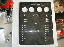 "Irwin Sailboat Aluminum Shore Power Switch Panel 12"" x 15.75"""
