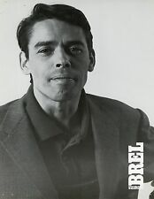 JACQUES BREL LE FILM FREDERIC ROSSIF 1979  PHOTO D'EXPLOITATION ANCIENNE N°1