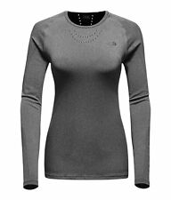 The north face women's flight series warp l/s ultimate running xfit femme gris m l