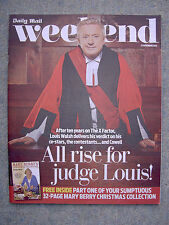 Weekend mag - Dido, Louis Walsh, Jason Hughes, Anthony Horowitz, Russell Watson