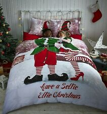 ,1*9 Catherine Lansfield Christmas Rich Cotton Duvet Cover sets