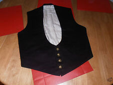 """WW1 British Army Offr's  Mess Waistcoat  size36"""" C/w Indian Army Buttons"""
