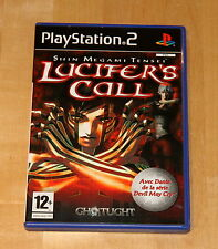 Shin Megami Tensei Lucifer's Call - playstation 2 - Pal Français