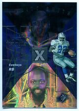 1998 SPx HoloFame EMMITT SMITH Rare Non-Die Cut Blank Back Proof Insert Tough SP
