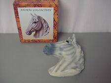 "NIB Animal Collection Resin Horse Head Wall Hanging 10"" x 10""  #77Z"