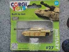 "Corgi 2014 ""Built to last"" #27 ARMY TANK desert camo TY64201 First Edition"