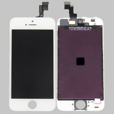 For Apple iPhone 5S LCD Display Touch Screen Digitizer Assembly Glass Lens White