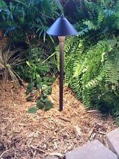 4 pk Philips LED Outdoor low voltage landscape path light SATURN cast aluminum