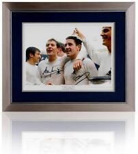 Tottenham Hotspur 1967 FA Cup photo dual signed by Mackay & Mullery AFTAL COA