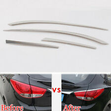 2 pcs Rear Tail Light Eyelid Trim Taillight Lamp Upper Cover Strip For IX35 2015