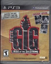 Power Gig: Rise of the SixString  (Sony Playstation 3 PS3, 2010) New Sealed