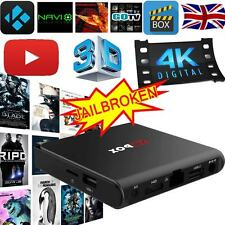 4K PRO Android 6.0 Fully Loaded TV BOX Quad Core KODI XBMC Free Movie Sport 8GB