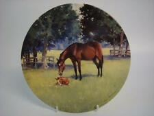 COALPORT LIFE OF A THOROUGHBRED A FOAL OF HER OWN HORSE PLATE