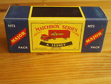 Matchbox Major M2, M&B PLUS, SUPERB! JUST TWO LEFT! The best you will ever find!