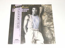 Jermaine Jackson - PROMO JAPAN LP - Precious Moments - Arista 28RS-11 + Obi