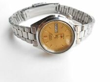 EXCELLENT VINTAGE GOLDEN DIAL CITIZEN JAPAN LADIES WOMENS AUTOMATIC WRIST WATCH