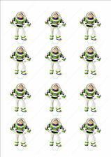 Novelty Buzz Lightyear Stand Up Cake Cupcake Topper Edible Birthday Toy Story