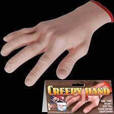 Dead Body Part-LIFE SIZE SEVERED CREEPY HAND-Zombie Thing Horror Halloween Prop