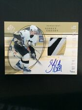 2004-05 Sp Authentic Future Watch #181 Sidney Crosby /100 Patch Auto
