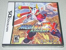 MegaMan ZX Advent for Nintendo DS Brand New! Factory Sealed!