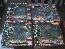 SEALED LOT OF 4 TRANSFORMERS POWER CORE COMBINERS WARS ABOMINUS COMBATICONS SET