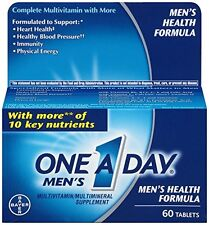 One-A-Day Men's Health Formula (60 Tablets), New