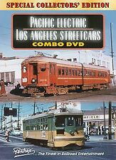PACIFIC ELECTRIC / LOS ANGELES STREETCARS COMBO NEW PENTREX DVD VIDEO