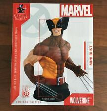 Wolverine Mini Bust 34/730 Brown Costume Gentle Giant Marvel X-Men New Sealed
