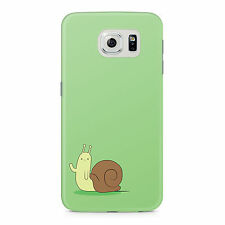 Adventure Time With Finn And Jake The Waving Snail Samsung Galaxy S6 Edge Case