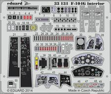 Eduard 1/32 Lockheed F-104G Starfighter Interior for Italeri # 33131