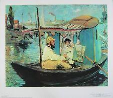 Edouard Manet Die Barke Poster Kunstdruck Bild Kostenloser Versand